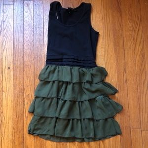 Ruffled Tank Dress Size Medium